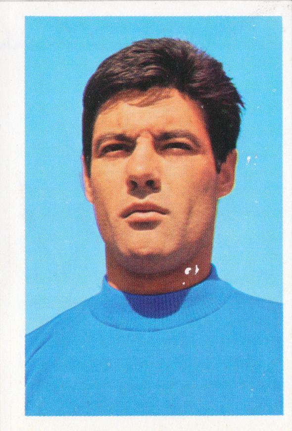 Sandro Salvadore Italy World Cup Soccer Stars Mexico 70