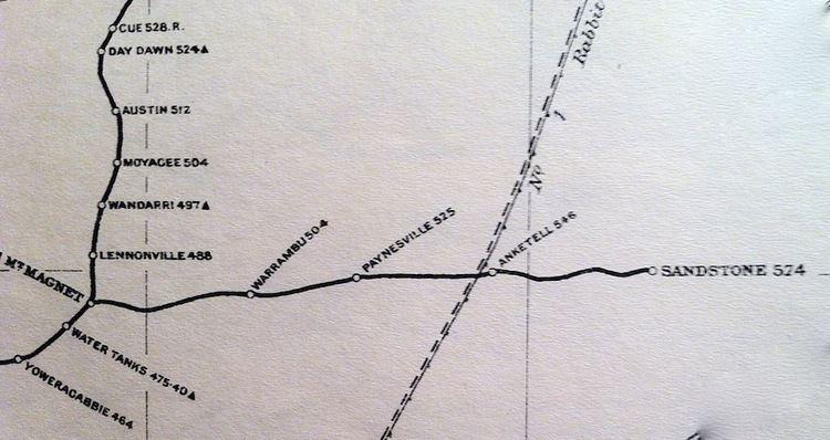Sandstone Branch Railway httpsuploadwikimediaorgwikipediacommonsee