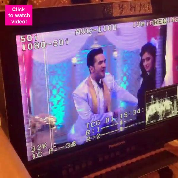 Sangee movie scenes Check out this behind the scenes video of Yeh Hai Mohabbatein s Aly Goni and