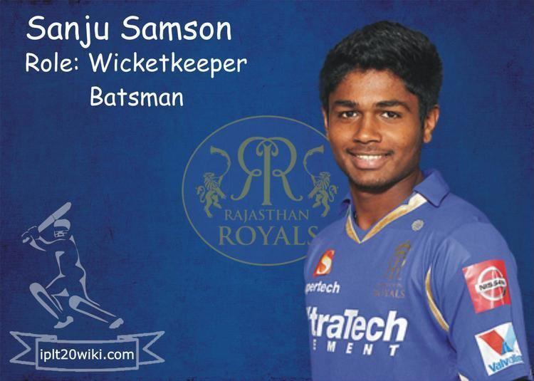 Sanju Samson Sanju Samson Rajasthan Royals RR IPL 2015 Player