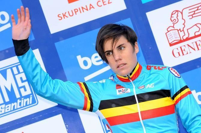 Sanne Cant Cant hits out at cyclocross parttimers Cyclingnewscom