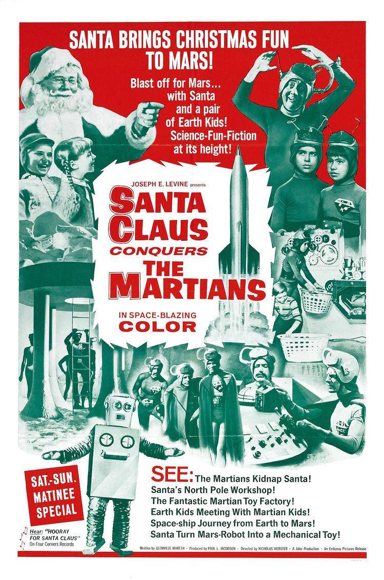 Santa Claus Conquers the Martians Santa Claus Conquers the Martians Wikipedia
