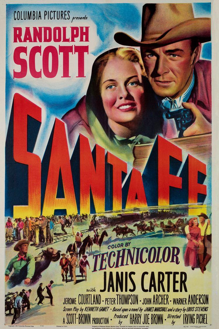 Santa Fe (film) wwwgstaticcomtvthumbmovieposters1784p1784p