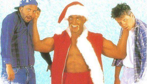 Santa with Muscles Santa with Muscles HULK HOGAN