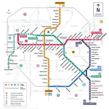 Santiago Subway Map.Santiago Metro Alchetron The Free Social Encyclopedia