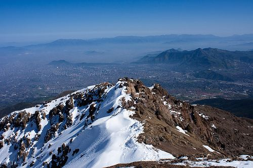 Santiago Metropolitan Region Beautiful Landscapes of Santiago Metropolitan Region