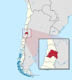 Santiago Metropolitan Region Wikipedia