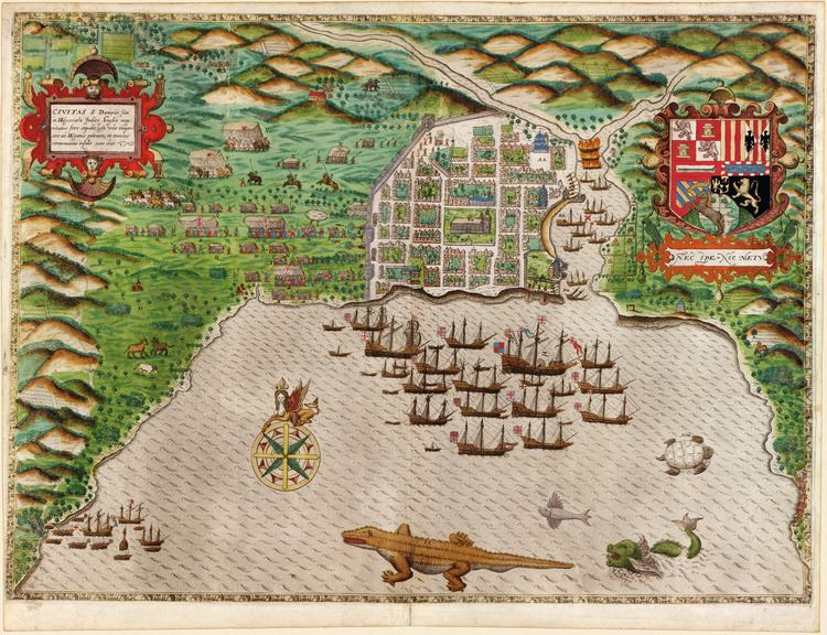 Santo Domingo in the past, History of Santo Domingo