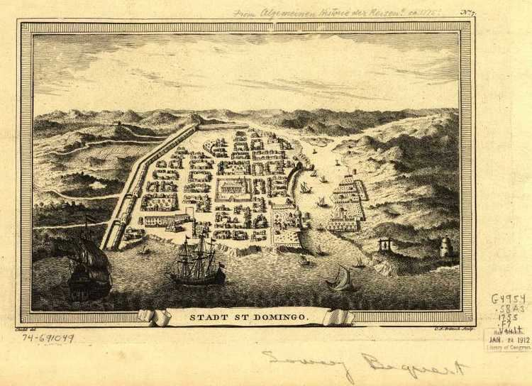 Santo Domingo in the past, History of Santo Domingo