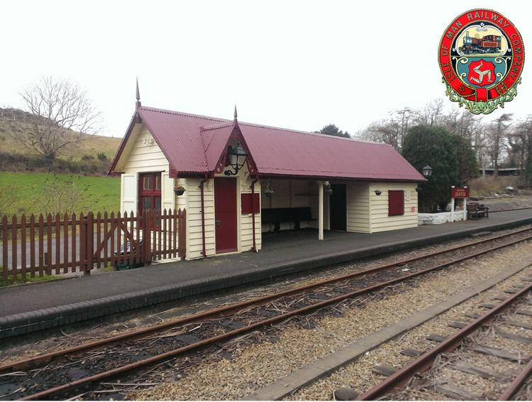 Santon railway station