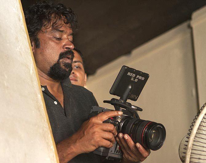 Santosh Sivan Santosh Sivan Inam is not a documentary Rediffcom Movies