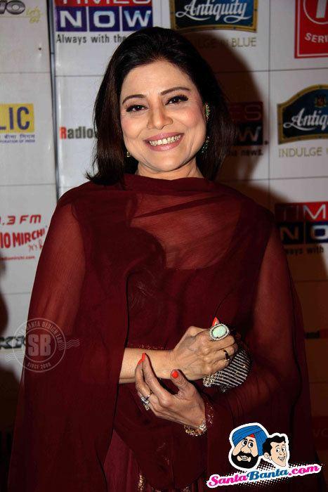 Sapna Mukherjee Mirchi Music Awards Red Carpet Sapna Mukherjee Picture