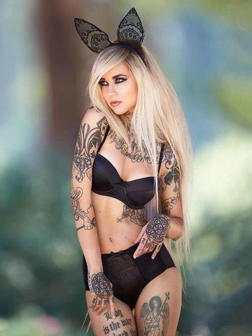 Sara Fabel The Most Iconic Images of Sara Fabel Tattoo Magazine