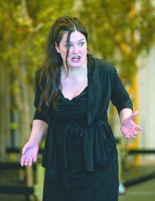 Sara Fulgoni Mezzo soprano Sara Fulgoni in concert at Kentchurch Court From