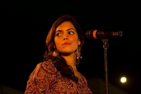 Sara Haider SaraHaideratSZABISTconcert2012jpg