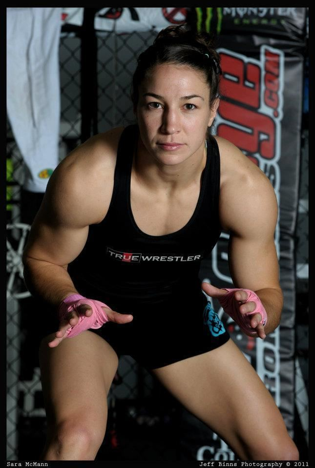 Sara McMann UFC Female FighterOlympian Sara McMann Talks about the
