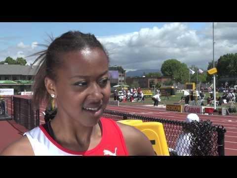 Sarah Atcho IAAF World Junior Championships 2014 Sarah ATCHO SUI