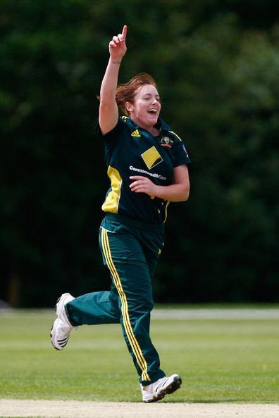 Sarah Coyte Sarah Coyte Photos Australia v India NatWest Women39s