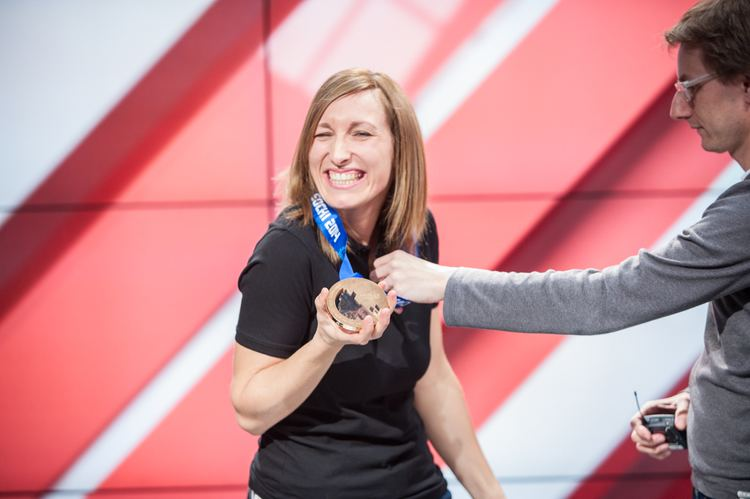 Sarah Forster Le canal sportif Invite Sarah Forster mdaille de bronze aux