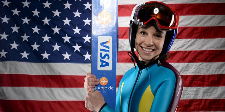 Sarah Hendrickson Sarah Hendrickson Is Thrilled To Be The First Female Ski