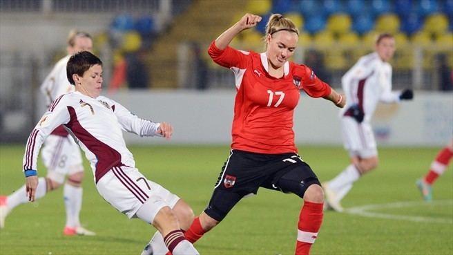 Sarah Puntigam Sarah Puntigam Austria amp Olesya Mashina Russia UEFA