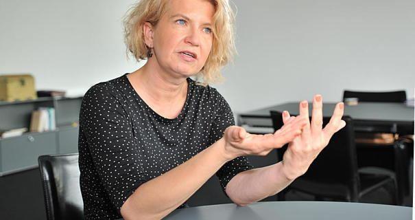 Sarah Sorge Interview mit Schuldezernentin Sarah Sorge quotWir probieren