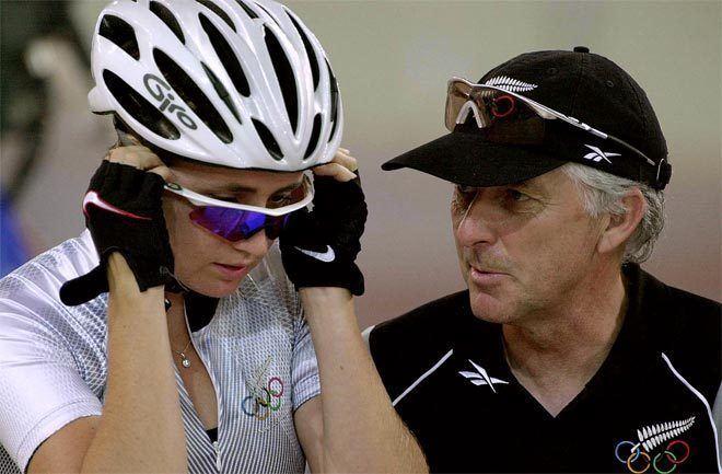 Sarah Ulmer Sarah Ulmer and Ron Cheatley Sydney 2000 Olympic and