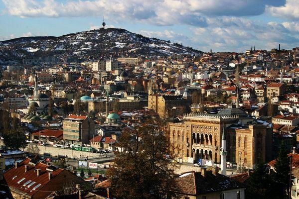 Sarajevo Beautiful Landscapes of Sarajevo