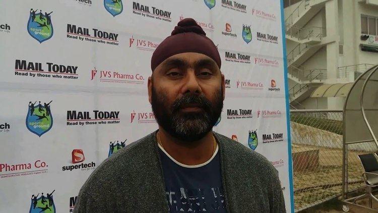 Sarandeep Singh Indias former Test Cricketer sharing ethos of SG