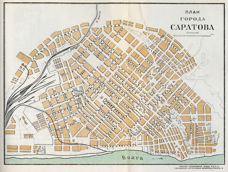 Saratov in the past, History of Saratov