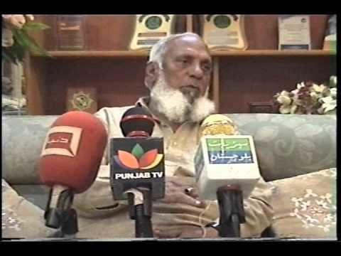 Tufail Ahmad Khan (politician) An Interview with Sardar Tufail Ahmad Khan YouTube