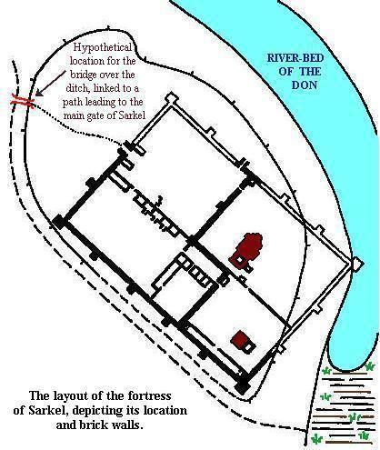 Sarkel The Khazar Fortress of Sarkel