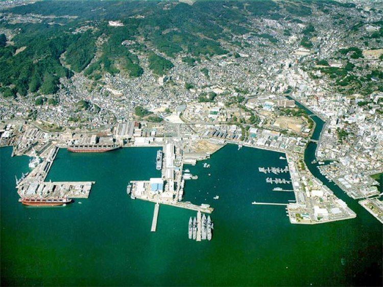 Sasebo, Nagasaki wwwglobalsecurityorgmilitaryfacilityimagessa