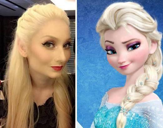 Sasha Saidin Sasha Saidin berangan macam Elsa Frozen Hiburan Berita Harian