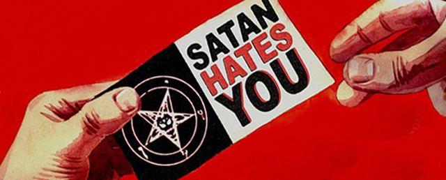 Satan Hates You Glass Eye Pix