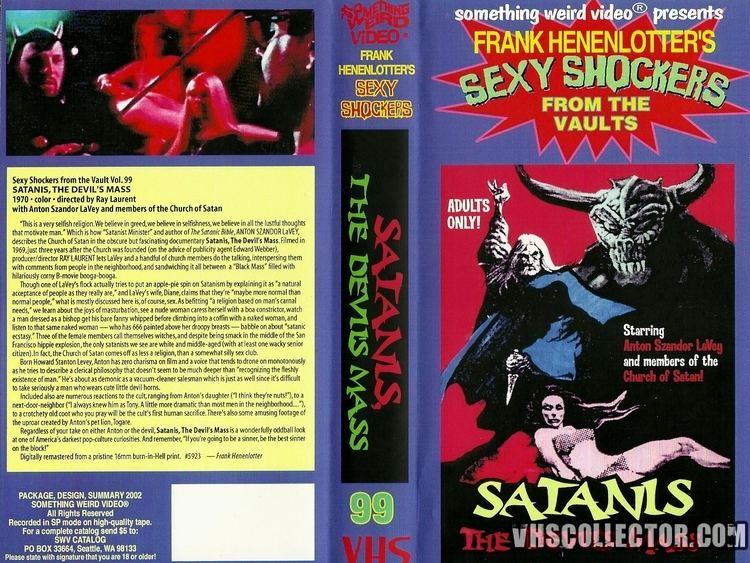 Satanis Satanis The Devils Mass VHSCollectorcom Your Analog Videotape