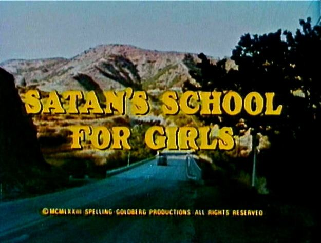 Satans School for Girls (1973 film) movie scenes  both of which depict the troubles that befall coeds whose dorms are fronts for Satan worshipping cults College girls and cultists Two great