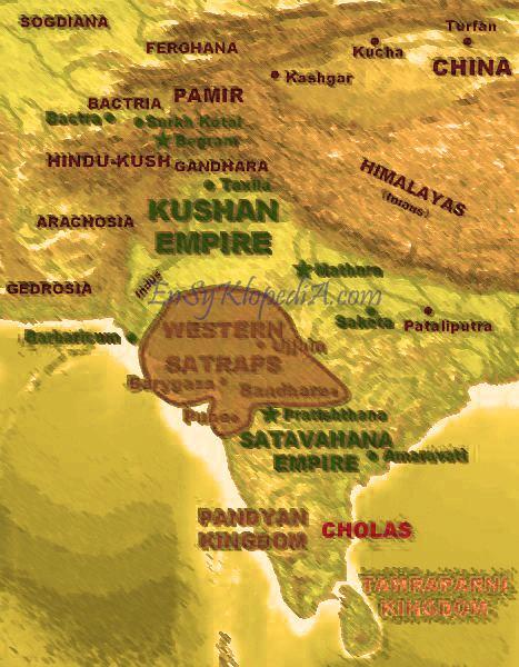 Satavahana dynasty Western Satraps Western Kshatraps or Kshaharatas Contemporaries