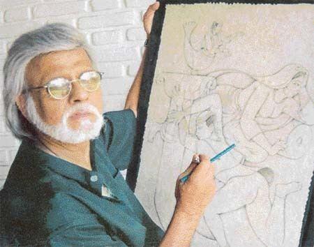 Satish Gujral The Sunday Tribune Spectrum Lead Article
