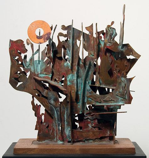 Satoru Abe Sculpture 1 by Satoru Abe