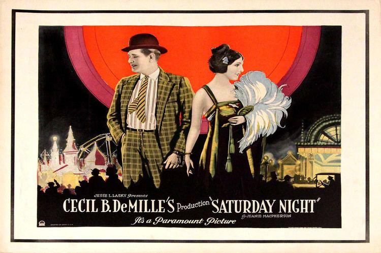 Saturday Night (1922 film) httpsimagesnasslimagesamazoncomimagesMM