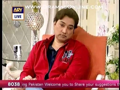 Saud (actor) Actor Saud insulted Mrs Khan with a cracking point on her