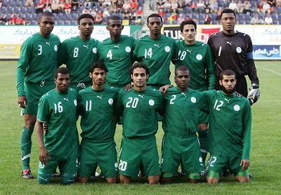 Saudi Arabia national football team Popular sport in Saudi Arabia
