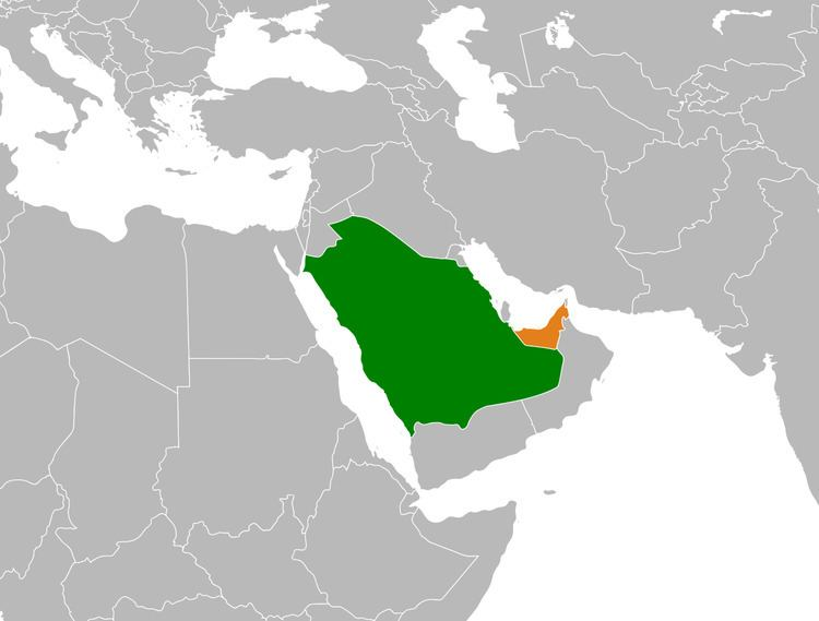 Saudi Arabia–United Arab Emirates relations