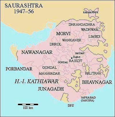 Saurashtra (region) Saurashtra state Wikipedia