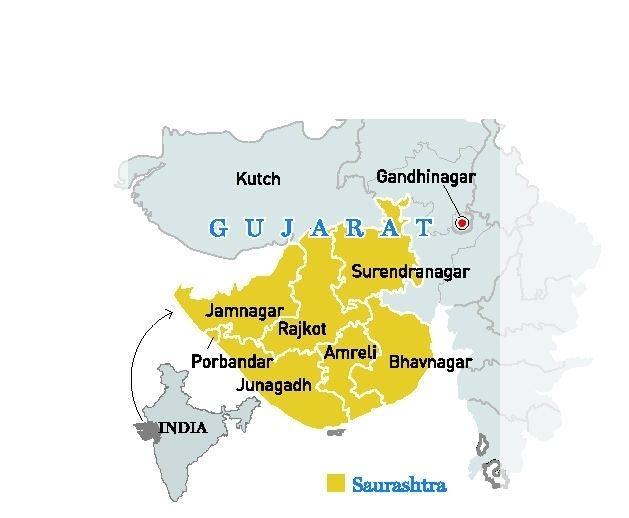 Saurashtra (region) Hype and hard facts Frontline