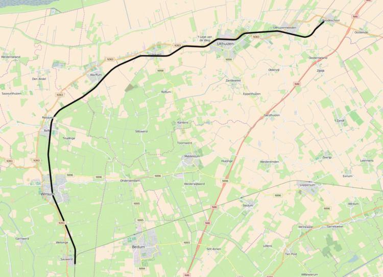 Sauwerd–Roodeschool railway