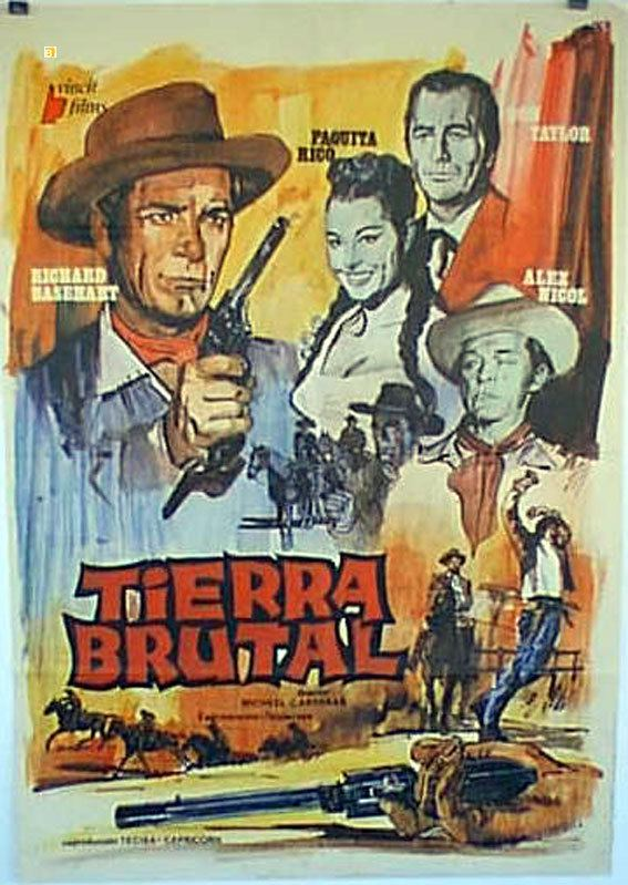 Savage Guns (1961 film) TIERRA BRUTAL MOVIE POSTER SAVAGE GUNS MOVIE POSTER