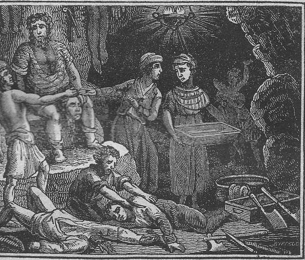 Sawney Bean Sawney Bean and his tribe ScotClans Scottish Clans