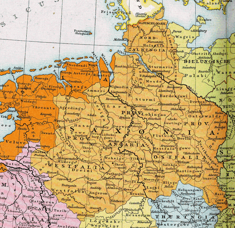 Saxony in the past, History of Saxony